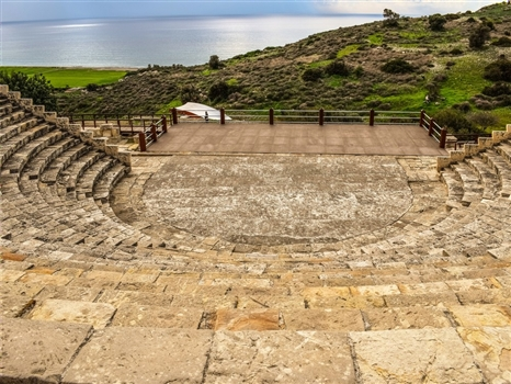 Kourion - the ancient kingdom of wealth and power
